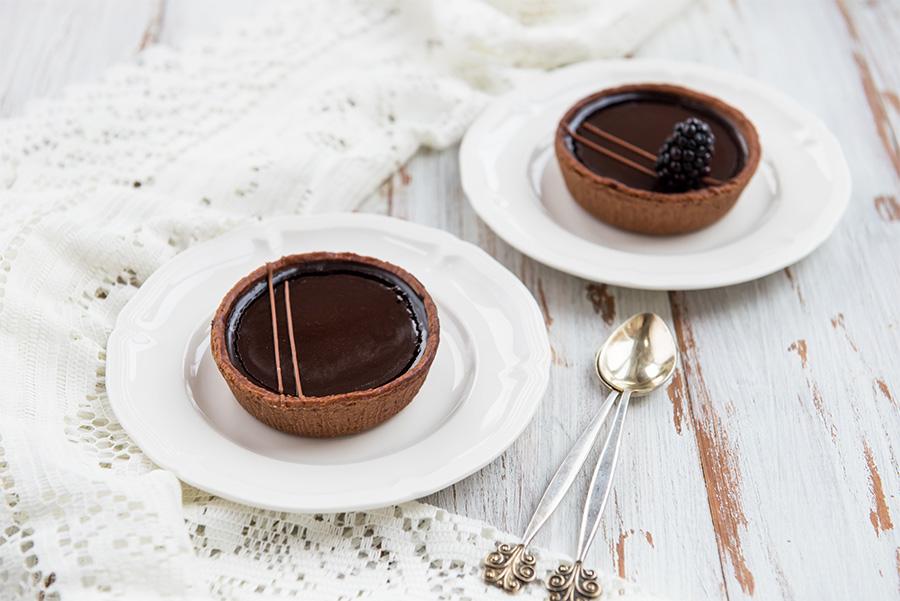 Crema pastelera de chocolate y Bon Roll sabor crema chocolate